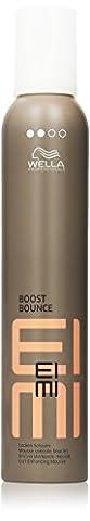 Wella EIMI Boost Bounce Locken-Mousse, 1er Pack (1 x 300 ml) (Anti Frizz Gel)