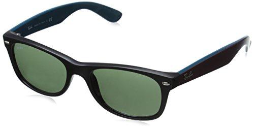 Ray Ban Unisex Sonnenbrille RB2132, Gr. 52mm (Gestell: Schwarz; Gläser: Grün)