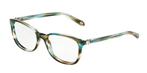 Tiffany & Co. Für Frau 2109hb Pearl Ocean Turquoise Kunststoffgestell Brillen, 51mm