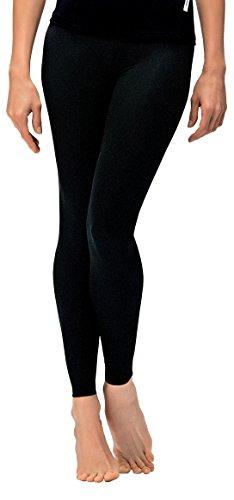 Leggings da donna Classic Sport Pantaloni Pantaloni da jogging pantaloni Fitness ideale e tempo libero Pantaloni lunghi da in nero di Gwinner, nero, XXL