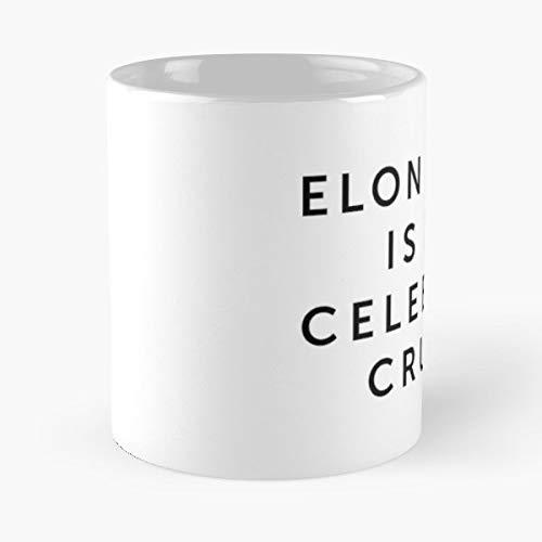 Elon Musk Love I Celebrity Crush Tesla Best 11 oz Kaffee-Becher - Tasse Kaffee Motive