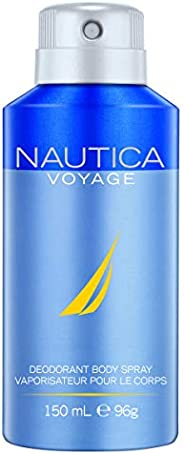 Nautica Voyage Body Spray for him, 5 Fl Oz