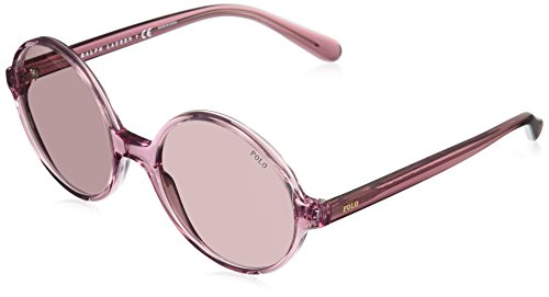 Polo Ralph Lauren Damen 0Ph4136 568684 55 Sonnenbrille, Pink/Burdy