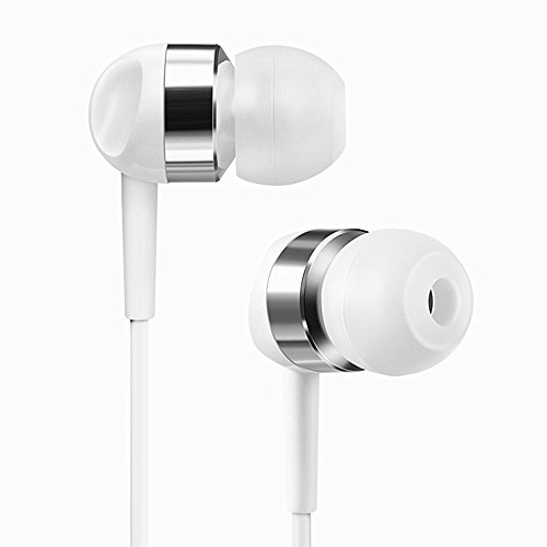Wired Cuffie, dewanxin Xiaomi 6Pro Type C in Ear magnetico Cuffie HD Stereo Noise Cancelling sweatproof Sport auricolari con microfono Xiaomi 6 Pro Type-C Kopfhörer bianco