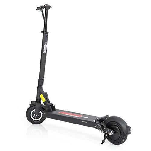 Wizzard 2.0S City E Scooter Leistungstarker Elektro Roller mit 35 Km/h und 40 Km Reichweite by Monowheel (Schwarz)
