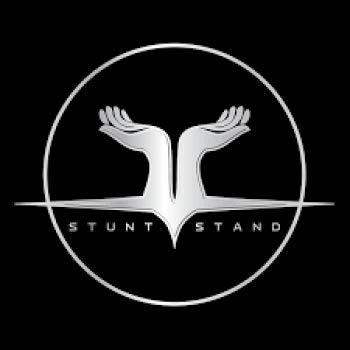 Stunt Stand Cheer Balance & Flexibilität Stunt-Trainingsgeräte Schwarz