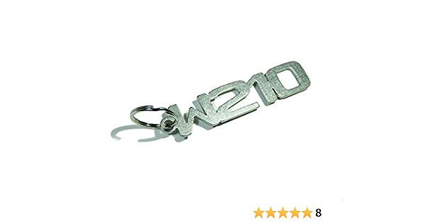 Disagree Schlüsselanhänger W210 Hochwertiger Edelstahl Auto
