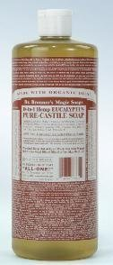 Dr. Bronner's Eucalyptus Castille Soap Made with Organic Ingredients 235 ml by Dr. Bronner's (English Manual)