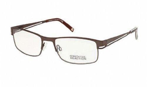 kenneth-cole-reaction-monture-lunettes-de-vue-kc0697-048-marron-brillant-54mm