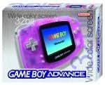 Nintendo Game Boy Advance Console - Rose - Transparent