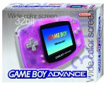 Nintendo Game Boy Advance Console - Rose - Transparent