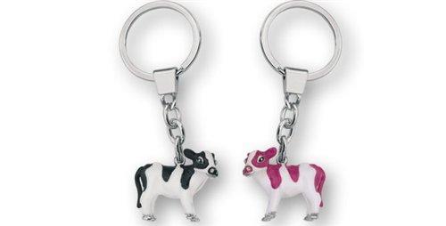 Preisvergleich Produktbild Schlüsselanhänger KUH (1 Stück), Metall