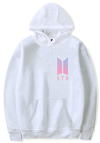 SERAPHY Unisex Winter Jumper BTS Hoodies Bangtan Boys Sweatshirt With Fleece Suga Jin JIMIN Jung Kook J-Hope Rap-Monster V