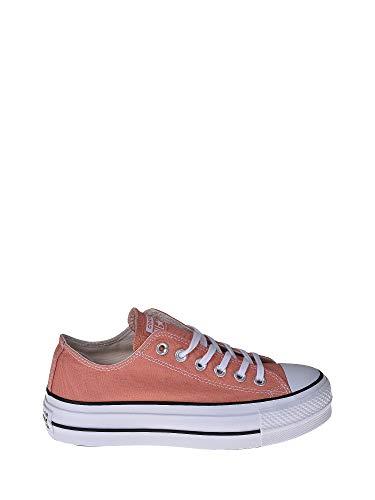Converse Damen Chuck Taylor All Stars Sneaker, Elfenbein (Desert Peach/White/Black 000), 36 EU
