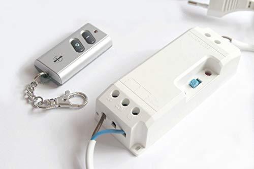 Türöffner (Funk-Türöffnermodul für elektrische Türöffner im Set mit Funk-Schlüsselsender ITK-200 von Intertechno)