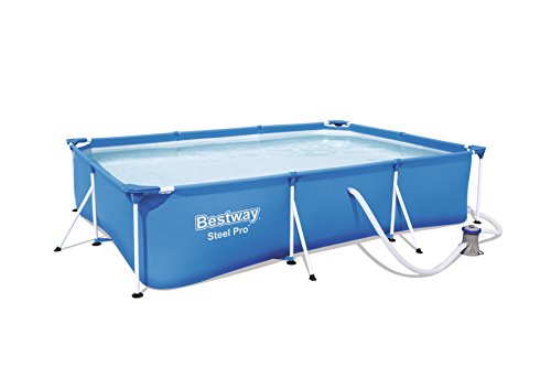 Bestway 56411 - Piscina Desmontable Tubular Infantil Bestway Deluxe Splash Frame Pool...