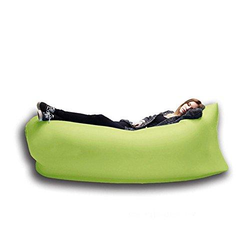 gonfiabile naturale dell'aria, portatile montagna campeggio gonfiabile, sacchi a pelo gonfiabili, cuscino gonfiabile esterno , grass green