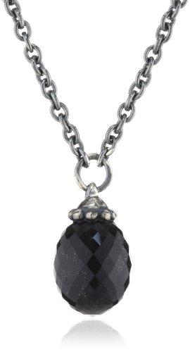 Trollbeads Silber Fantasy Kette mit Onyx - 70cm