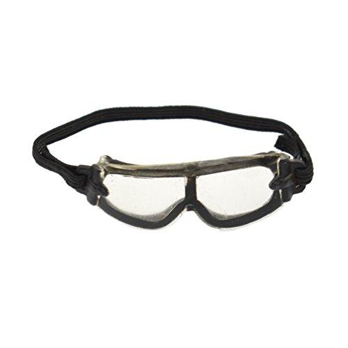 Kesheng 1/6 Mini Schutzbrille Knieschutz Helm Kleidung Tasche Zigarette für Soldat Militär Figur Zubehör