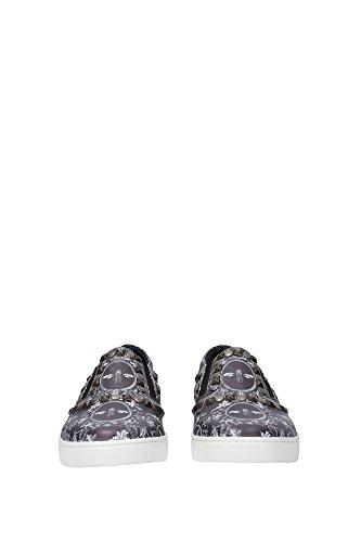 CS1321A67498P805 Dolce&Gabbana Pantoufle Homme Cuir Gris Gris