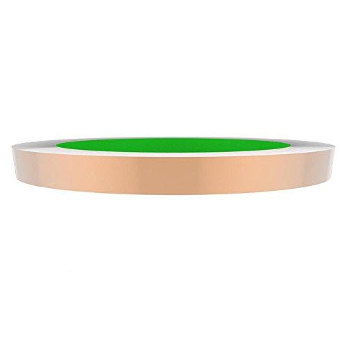 MagiDeal Rollen Kupferfolienband Kupferfolie Kupferrolle Kupferplatte Anti-UV EMI-Abschirmung Ersatzteil Zubehör - 0,6cm * 50