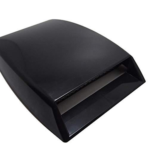 Pandiki Auto dekorative Air Flow Intake Hood Scoop Vent Car Bonnet Entlüfterelement Dekor Autoschmuck -