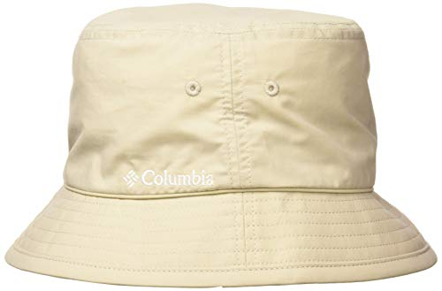 Columbia Pine Mountain Bucket Hat Sonnenhut, Beige (Fossil, Solid), S/M -