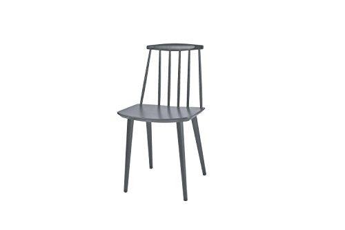 HAY J77 Stuhl - steingrau - Folke Palsson - Design - Esszimmerstuhl - Speisezimmerstuhl