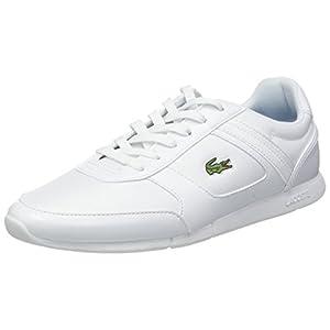 Lacoste Herren Menerva Sport 318 2 Cam Sneaker, White/Dark Blue