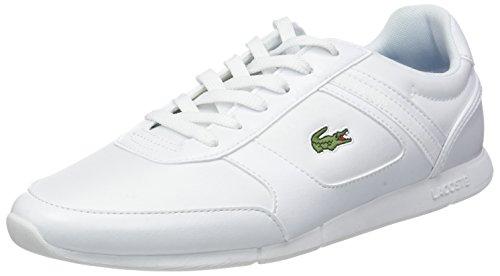 Lacoste Herren Menerva Sport 318 2 Cam Sneaker, Weiß (Wht/Dk Blu X96), 42 EU