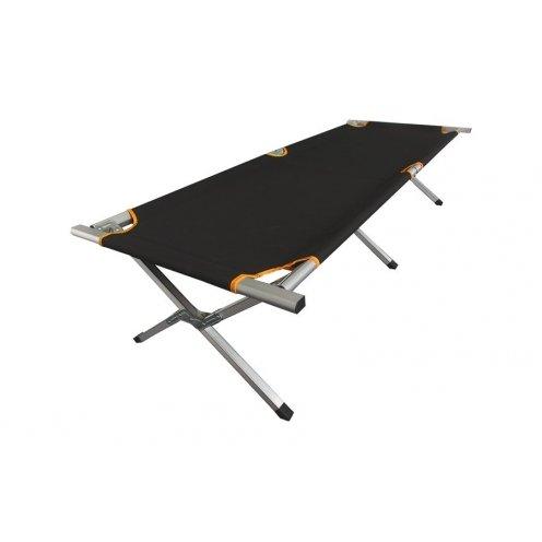 Elementerre Campingbett Bondaw Al schwarz/orange