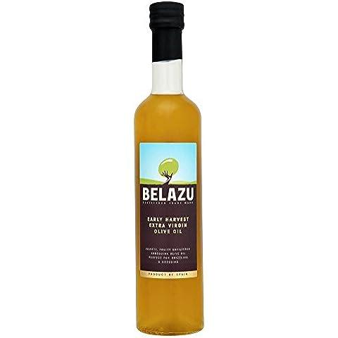 Belazu Cosecha Temprana Aceite De Oliva Virgn Adicional (500ml) (Paquete de 6)