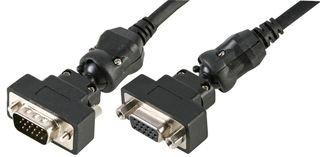 6' - Box (VGA M-F ROTOR LEAD, 2M CLB-HD15MF-RO-6FT By CLEVER LITTLE BOX)