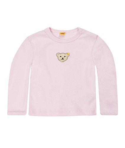 Steiff Unisex - Baby Sweatshirt 0006671, Gr. 62, Rosa (2560) -