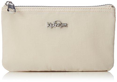 Kipling CREATIVITY L KT K1359405G Damen Ausweis- & Kartenhüllen 19x11x5 cm (B x H x T), Beige (Cream 05G)