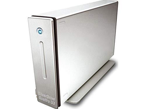 Storeva SilverDrive Quattro U3 1TB 7200 U/min USB-C, USB 3.0, eSATA, FW800/400 -