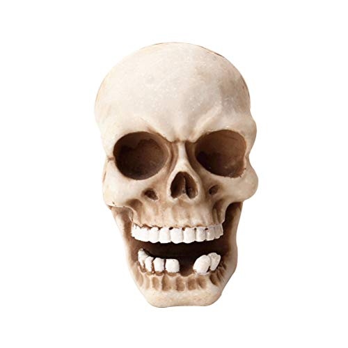 Skull-vorhängeschloss (Vosarea Skeleton Skull Key Holder Wandhaken Figur für Wohnkultur)