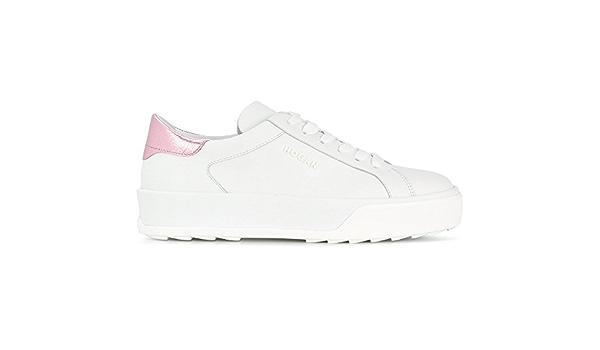 Hogan Scarpe Donna Sneakers H320 HXW3200AG80IGG547S Bianco in ...
