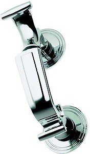 (Polished Chrome Doctors Style Door Knocker (BC25A)