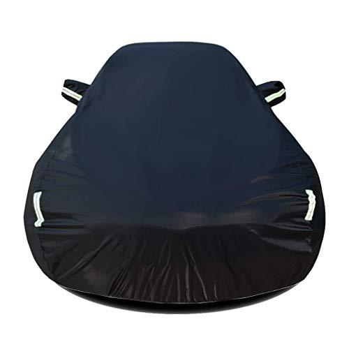 HL-TD Autoabdeckung Kompatibel Mit Opel Meriva Autoplanen Oxford-Stoff Autoplanen Eine Autoplanen Wasserdicht Isolierung (Color : Black)