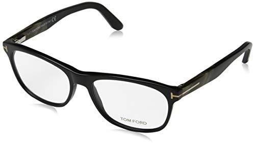 Tom Ford Herren Brille FT5431 001 55 Brillengestelle, Schwarz,