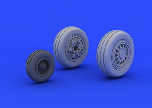 Eduard Brassin 1:72 - F-16CJ Block 50 Wheels (Tamiya) (Block F-16cj)