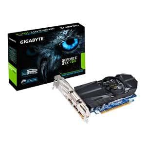 Gigabyte GTX 750–2GB Overclock Édition - 1 Go-GDDR5–PCI-E Carte graphique - 2 x DVI HDMI DisplayPort