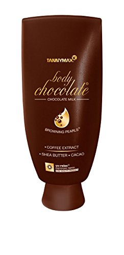 Tanny Max / Sunbed Creams : Body Chocolate Milk Bottle 200Ml