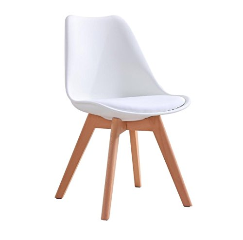 P Amp N Homewares Lorenzo Tulip Chair Plastic Wood Retro