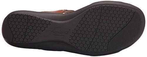 Trotters Kip Femmes Cuir Sandale Luggage