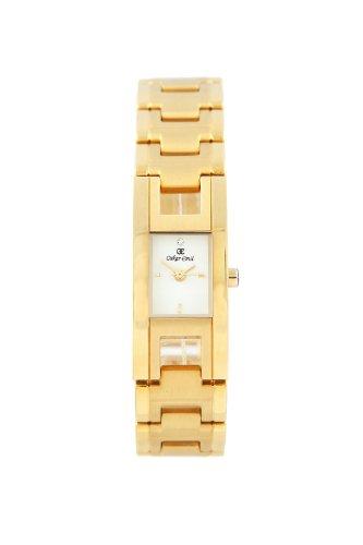 Oskar Emil de edición limitada de ginebra reloj de mujer con cristal de chapado en oro