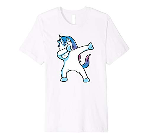 Dabbing Unicorn Funny Party T Shirt