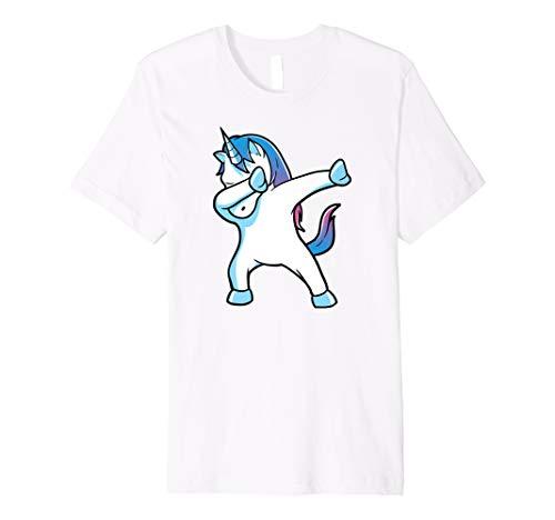 Dabbing Unicorn Funny Party T Shirt