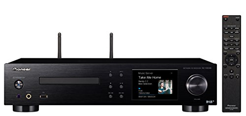 Pioneer NC-50DAB-B - Network Media Player (Reproductor de CD, Reproductor de Red, Radio Digital y por Internet)